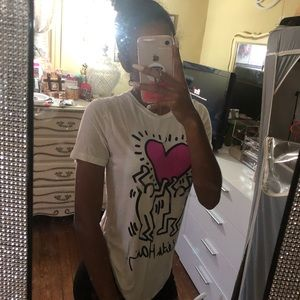 Forever 21 x Keith Haring graphic tee